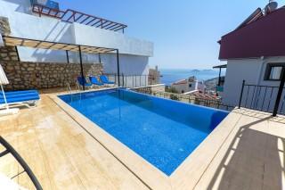 Villa Eva 3, Sea View Villa for 10 people | Kalkan Villa