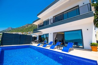 Villa Moonlight, Kalkan Kördere'de 2 Yatak Odalı | Kalkan Villa