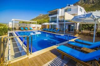 Villa Akca, Kalkan'da 14 Kişilik Tatil Villası | Kalkan Villa