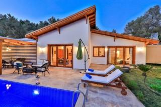 Villa Arga, Kalkan Flitterwochenvilla mit einem Schlafzimmer in I