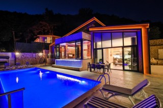 Villa Kalis 4, Kalkan Luxury Villa For Rent For 8 People In Islam
