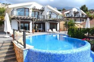 Villa Mare, Kalkan Kalamar'da denize yakın lüks kiralık villa