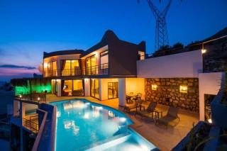 Villa Metehan, konservative Villa mit 3 Schlafzimmern in Kalkan