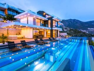 Villa Panorama, UltraLüks Konseptli 8 Kişilik Villa |Kalkan Villa