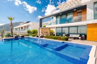 Villa Zaffre, 8 kişilik, Lüks, Tatil Villası | Kalkan Villa